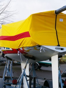 Amore Boat Cover Aft View